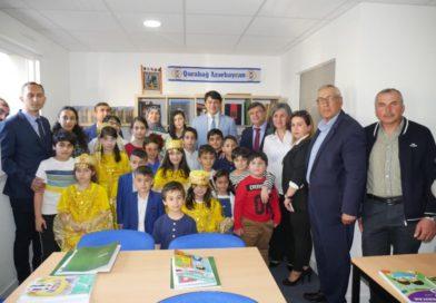 Fransanın Nant şəhərində Azərbaycan məktəbi açılıb