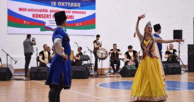 Marneulidə yaşayan soydaşlarımız üçün möhtəşəm konsert təşkil olunub
