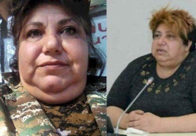 Özünü satıcı kimi təqdim edən erməni qadının kimliyi – FOTOLAR