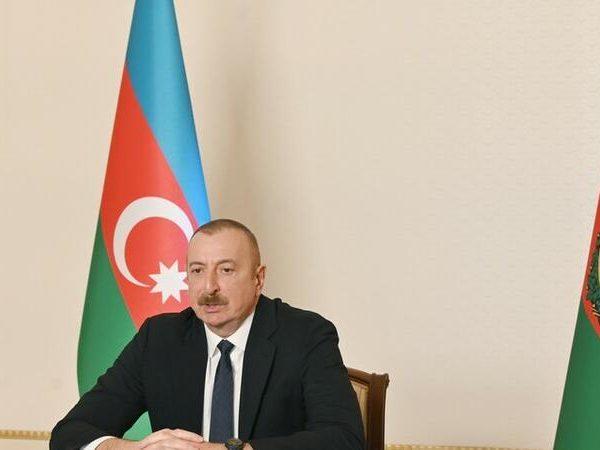 İlham Əliyev Volkan Bozkırla görüşdü