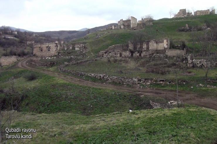 Qubadlı rayonunun Tarovlu kəndi -VİDEO