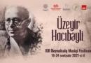 Şuşada Beynəlxalq Musiqi Festivalı keçiriləcək